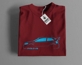 T-shirt Volkswagen Polo R Wrc Rally | Gent, Lady and Kids | all the sizes | worldwide shipments | Car Auto Voiture