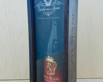 Custom Built Acrylic Front Wine Box Fully Customizable