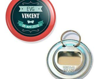 EVG retro bottle opener key 56mm