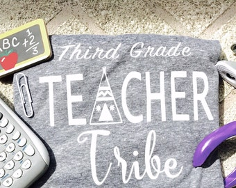 Teacher Tribe shirt Teacher team