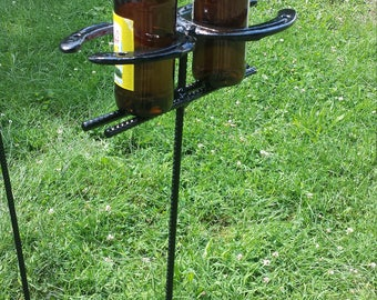 Horseshoe Yard Beer/Drink Holder