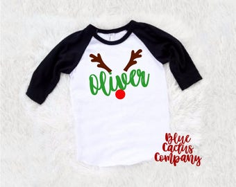 Reindeer names shirt etsy for Custom shirts fast delivery