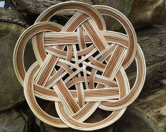 Celtic Knot Basket, Tatza Bread Basket,