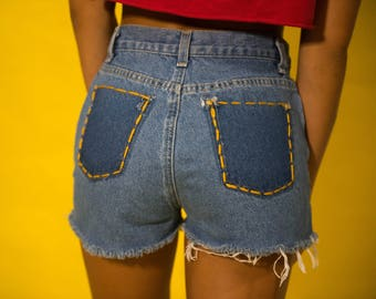 Snitches Get Stitches Shorts