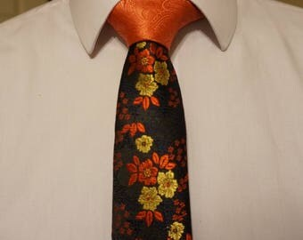 Two-Toned Skinny Tie