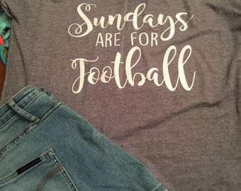 Sundays are for Football Women's T-shirt