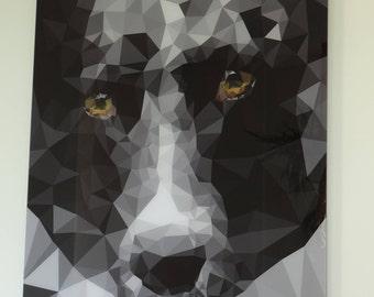 Unique / personal dibond artwork - vector