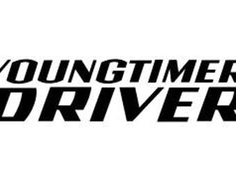 """Driver youngtimer"" decal stickers"