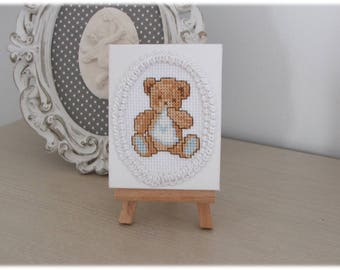 "Small frame for baby's room ""bear"""