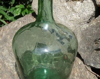Bottle in glass Dame Jeanne VIRESA J 2 l very good condition