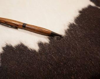 hand turned wood pen
