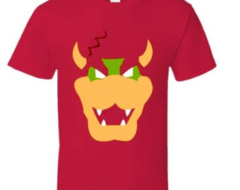 Abstract Bowser Tee