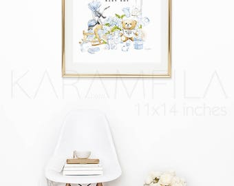 Welcome Baby Boy Print. Baby Boy Nursery Print. Newborn Gift. Baby Shower Favor This is not a Moschino Toy Teddy Bear Print. Cute Baby Print