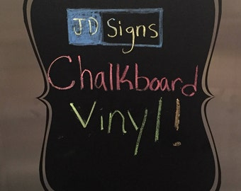 Chalkboard Vinyl Decal