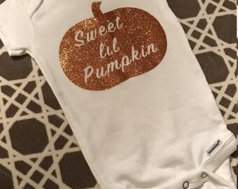 Sweet Lil Pumpkin Onesie