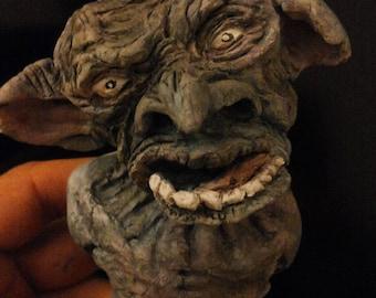 Sculpture '' Goblins '' cave