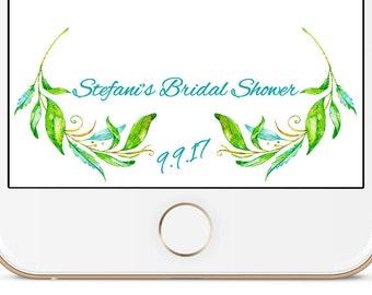Bridal Shower Snapchat Geofilter | Stefani
