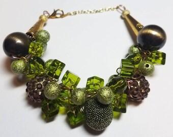 Olive Glam Bracelet