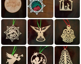 """3""""-4""""Ornaments for the Christmas & Birthday"""