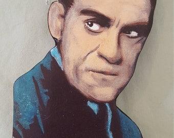 Boris Karloff Magnet