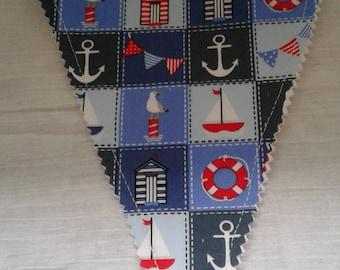Nautical bunting
