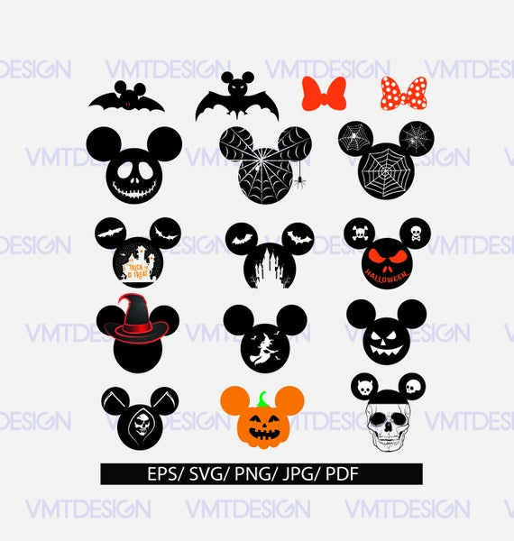 Mickey Mouse SVG, Mickey Mouse Halloween SVG, Mickey svg, Mickey ...