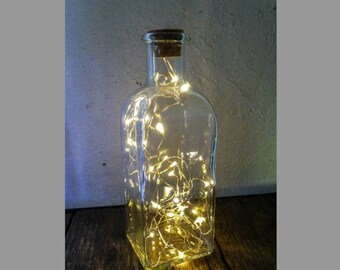 Lamp bottle LED Garland battery