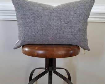 The Graphite Diamond Pillow Cover