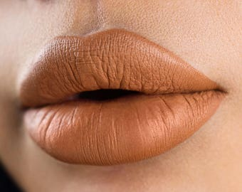 Wild Honey Toffee Nude Silky-Matte Liquid Lipstick
