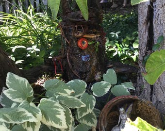 Enchanted Colorado Forest Miniature Fairy Dwelling