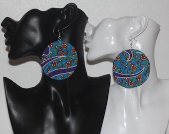 earrings, african fabric earrings, ankara, jewellery, accessories, african earrings, ankara earrings, afrocentric earrings