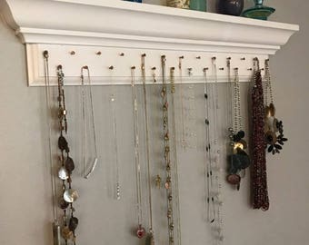 Necklace Hanging Shelf