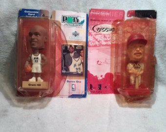 Mark McGwire and Grant hill bobble heads/collectible