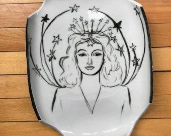 Hedy Lamarr slab plate
