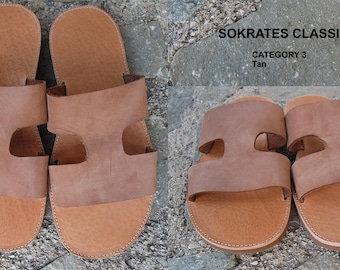 Men's Sandals ,Mens Leather Sandals,Mens Sandals,Archaiko,Men's Sandals, Handmade Sandals, Leather Sandals, Greek Sandals,SOCRATES CLASSIC