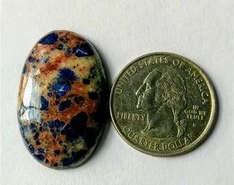 32.21 x 20.80,Ovel Shape Sodalite,Attractive Sodalite /wire wrap stone/Super Shiny/Pendant Cabochon/Semi PreciousGemstone,silver jewelry