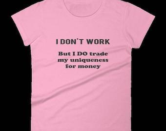 Women's Party Shirt, Tshirts For Women, Funny Women's T-Shirt, Gift For Her, Gift For Mum, Gift For Mom, Humorous Tshirts, Joke Gift For Mum
