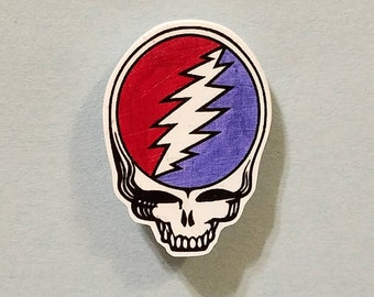 Classic Stealie Pin - Grateful Dead