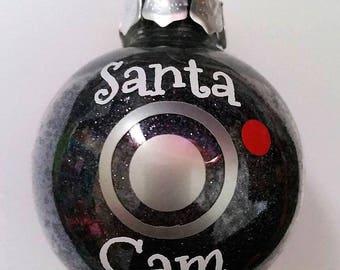 Christmas tree Santa Cam