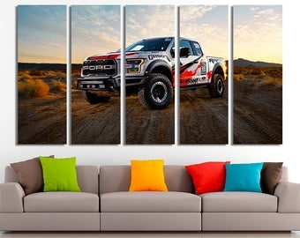 Ford canvas, Ford poster, Ford print, Ford wall art, Sport car print, Sport car poster, Sport car photo, Ford photo, Ford home decor