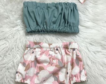Baby Girl Bloomer Shorts -