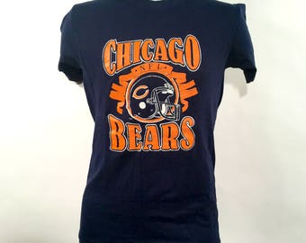 Chicago Bears T-Shirt - Small - 1990s