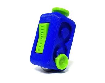 FLIPPIT Fidget Cube/Stress Ball/Fidget Toy/Adult ADHD/Focus Toy/Special Needs/Desk Fidget/Stim Toy/Stress Relief/Anxiety Relief/Sensory/ADHD