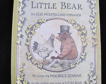 A Kiss for Little Bear // 1968 Hardback // I can read Series