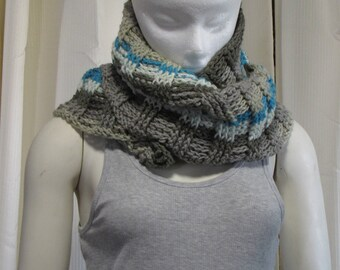 Ribbed Super Cowl - Crochet