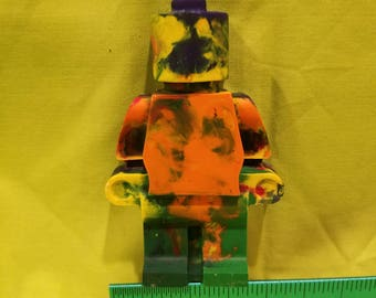 LEGO CRAYON Handmade Custom Colors available Kid Party Favor Holiday Fun