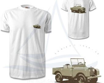 Vintage Land Rover Defender T Shirt, HUE, Classic, Novelty T-Shirt, Cars, Novelty Gift, Defender T-Shirt, Land Rover T-Shirt Adults