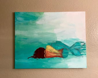Washed Up Mermaid