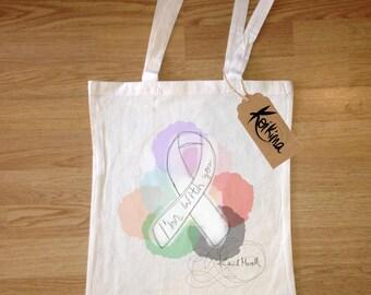 DrawString bag fabric, tote bag Koikima Store, illustration, woman bag, man bag, cotton bag, natural, gift, tote bag, original