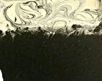 Black & White Soap Bar